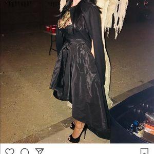 Black exotic dress